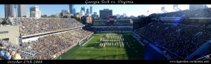Georgia Tech vs. Virginia Panorama