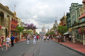 Forced Perspective makes Main Street USA in Disney World appear much larger than it really is!
